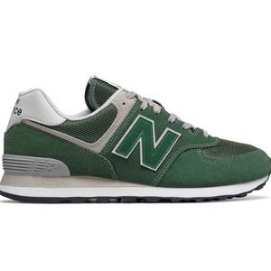 🆕 New Balance 574 Running Suede - Forest Green